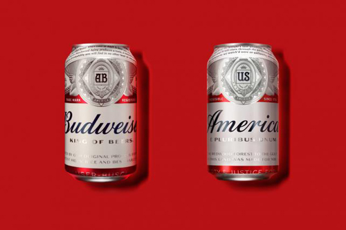 Budweiser renames their beer for the summer.