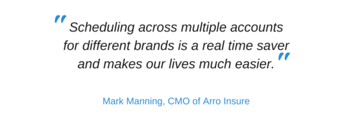 Mark Manning, CMO of Arro Insure emphasises that:
