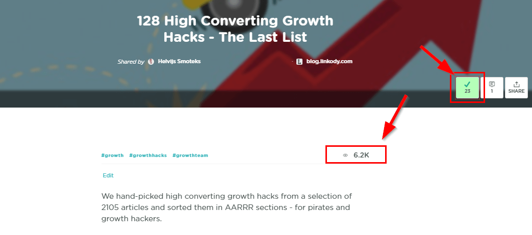 GrowthHackers Tips