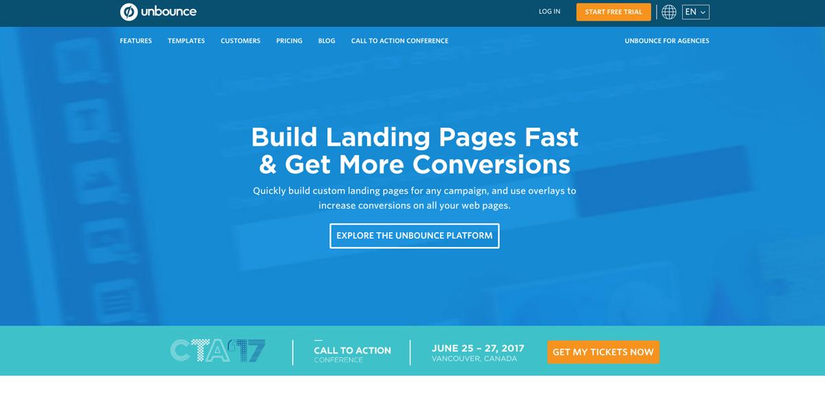 Unbound - Landing Page Creator