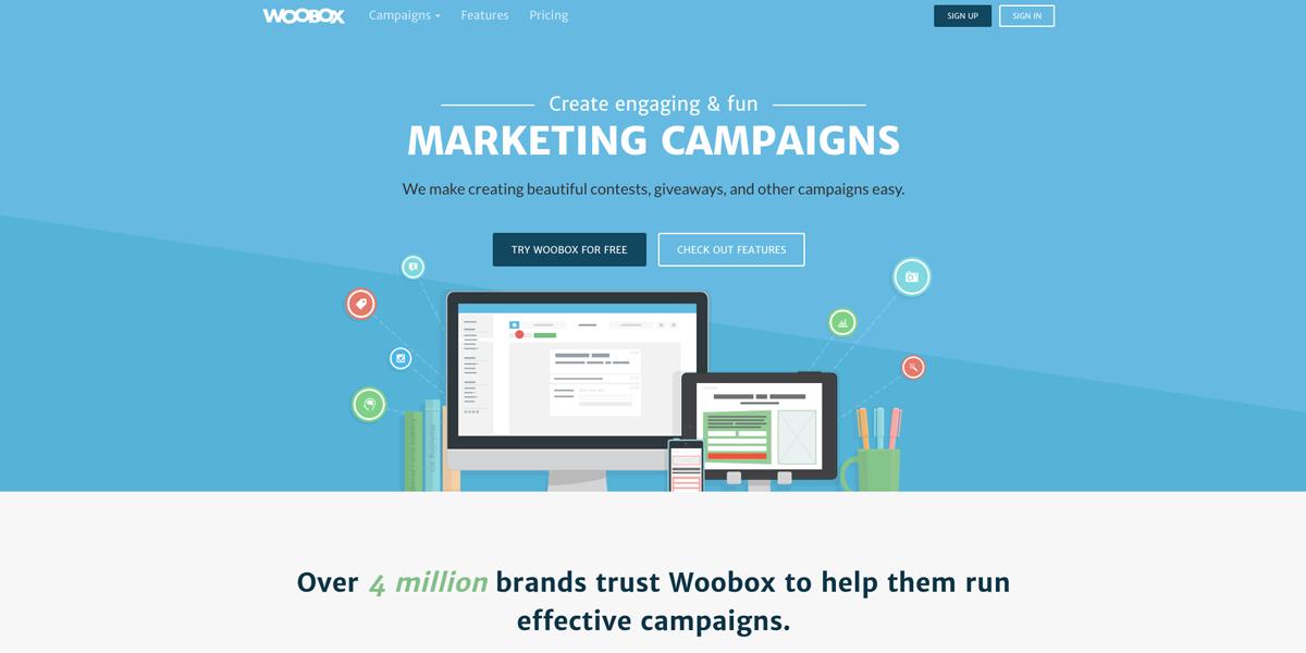 Woobox campaign creator