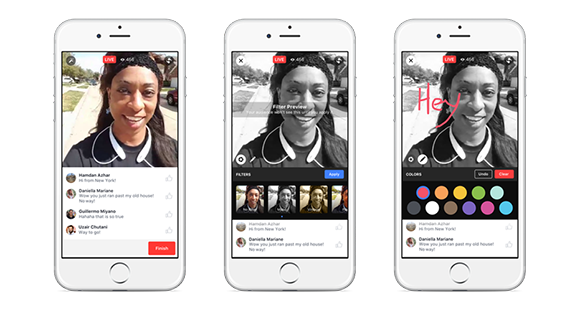 New Facebook Live filters coming soon
