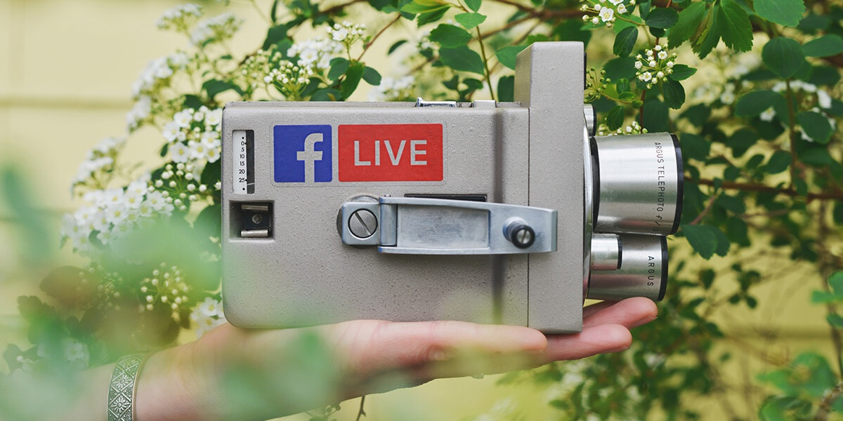 Experiment with Facebook Live and other features