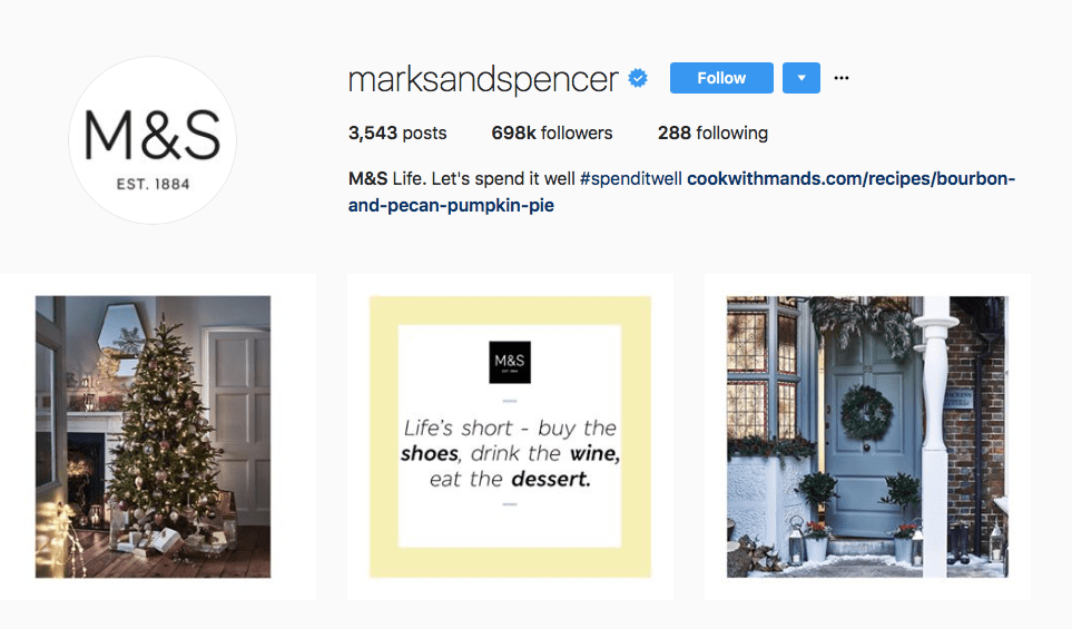Keep your holiday theme consistent on Instagram