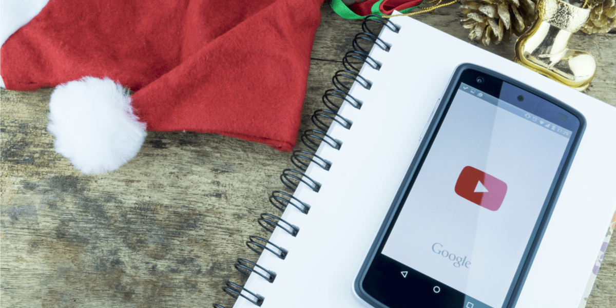 Holiday social media campaigns for YouTube