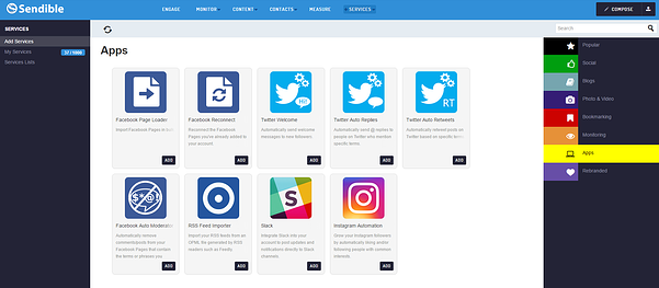 Sendible's brand new automation tool for Instagram likes