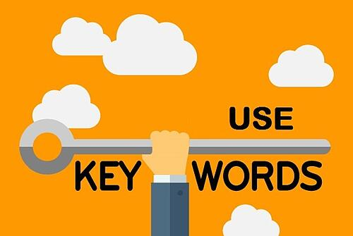 Use keywords in your social media posts