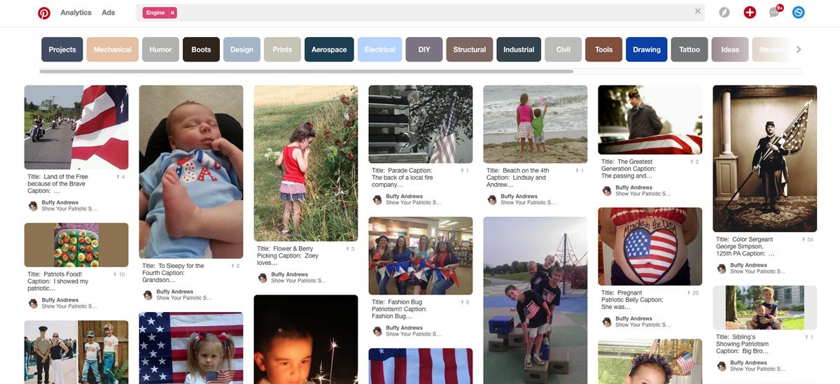 Source: Show your patriotic spirit contest on Pinterest