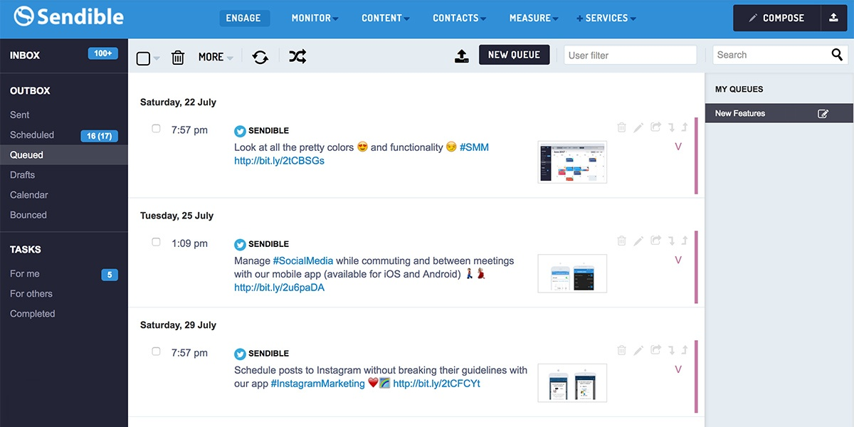 How to Use Queues for Content Curation and Creating Social Media