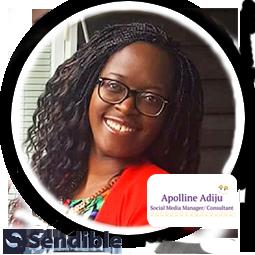 Apolline Adiju shares her opinion on social media marketing