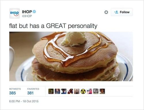 IHOP insensitive Twitter post