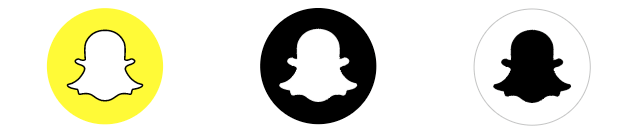picture regarding Printable Snapchat Logo identified as Every single Social Media Symbol and Icon within A person Easy Desired destination