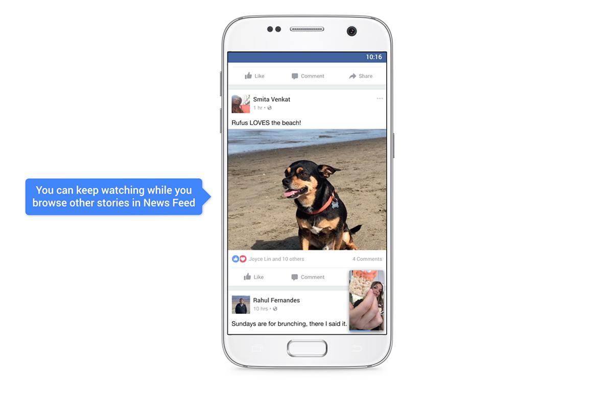 Facebook has launched vertical video