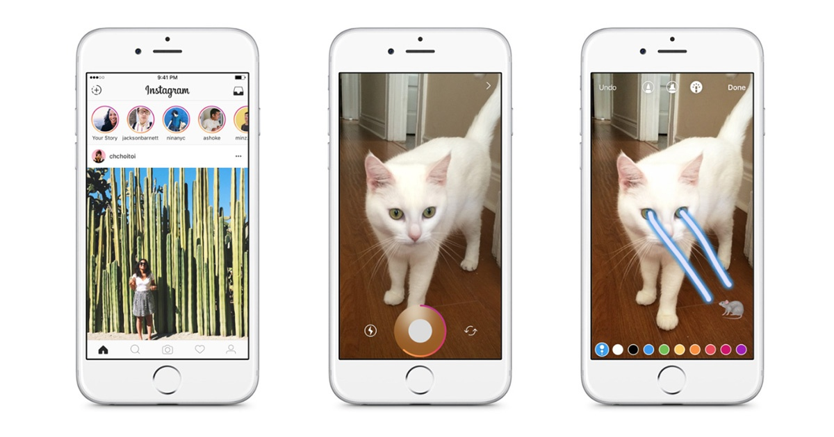 Instagram launched Stories - videos that get removed after a 24-hour window