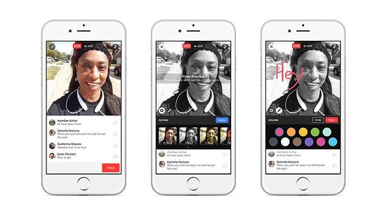 Facebook launched live video