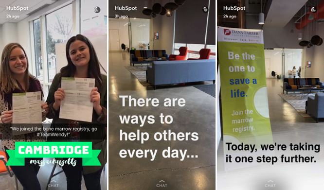 HubSpot promoting company culture via charity work