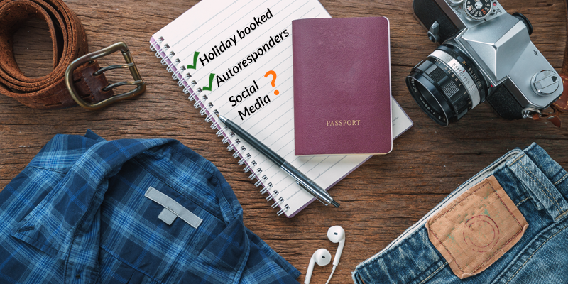 Prepare for your holiday with ease thanks to these social media hacks