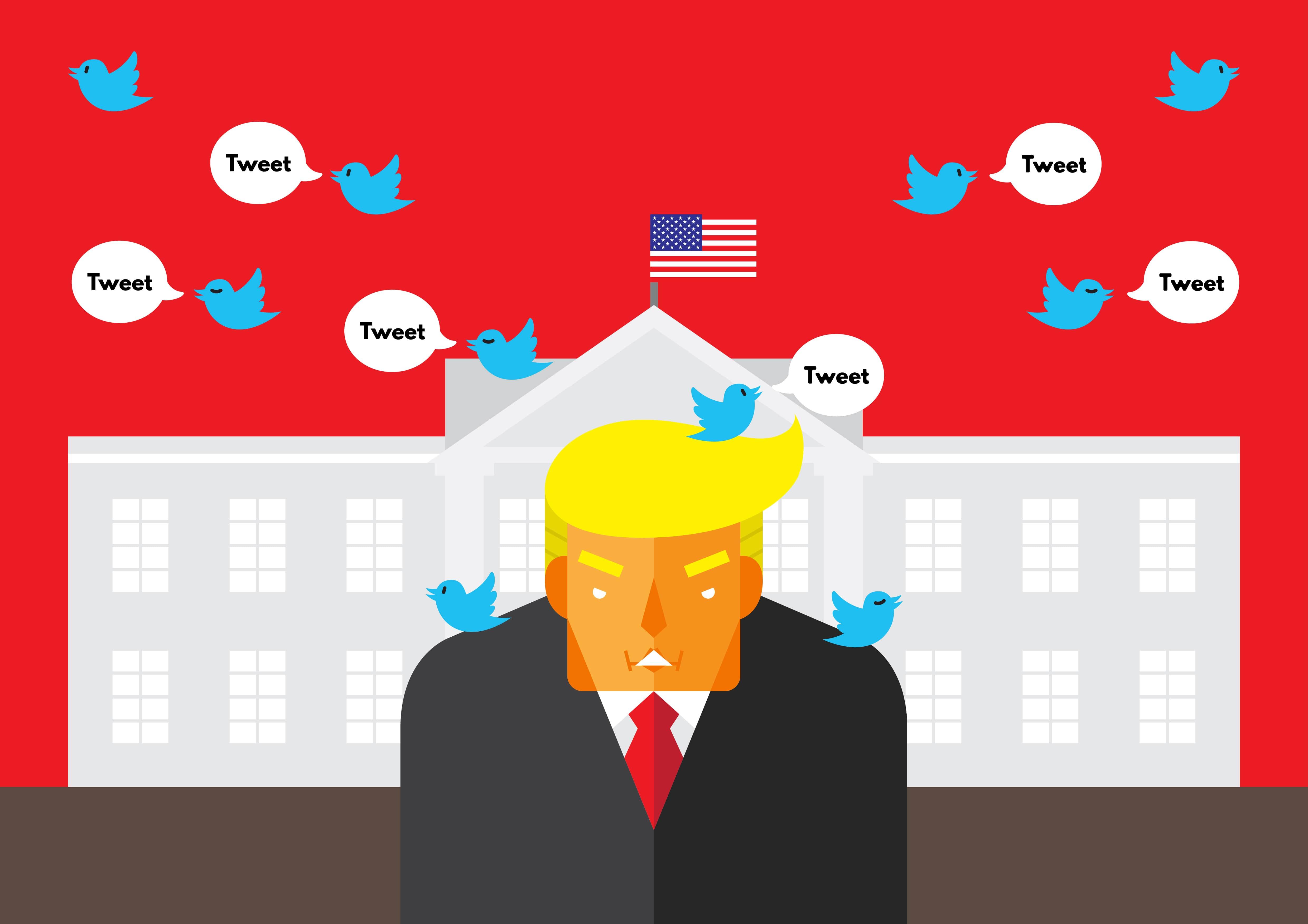 How to use Donald Trump's tactics on social media
