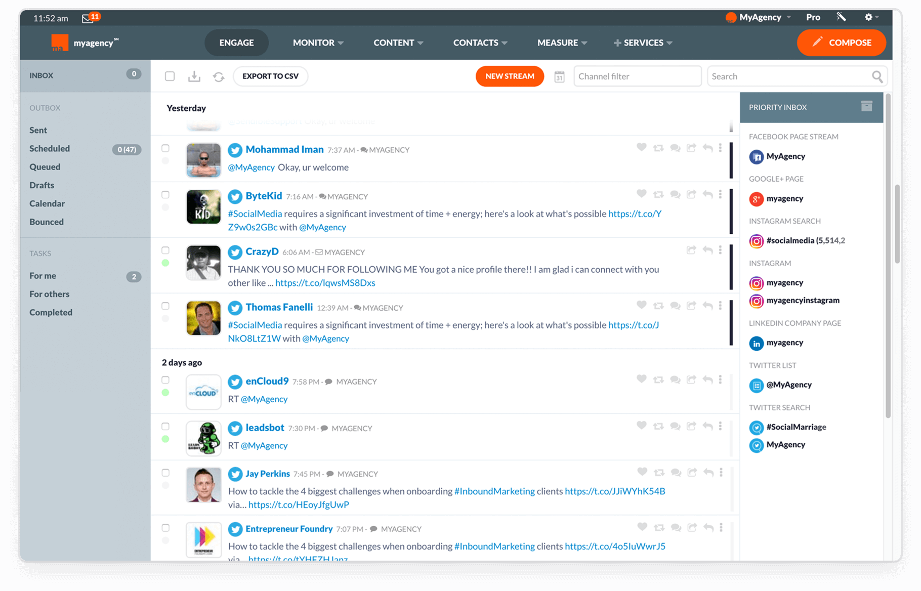 A White Label Social Media Management Tool to Call