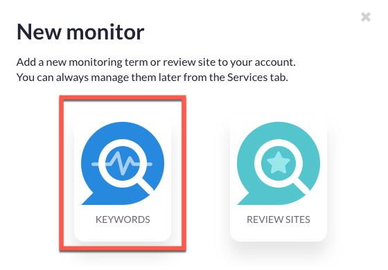 New monitoring set up - option 2
