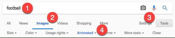 Google GIF search