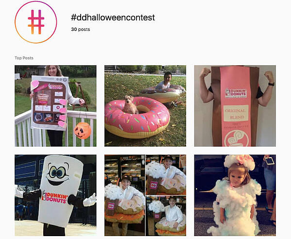 dunkin doughnuts costume screenshot