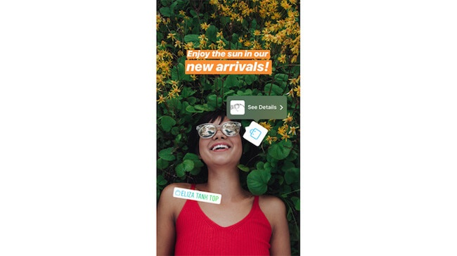 instagram shopping sticker