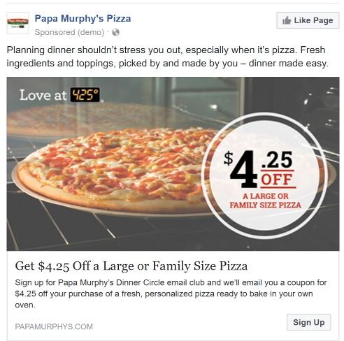 restaurant-papa-murphys-facebook-ad-2