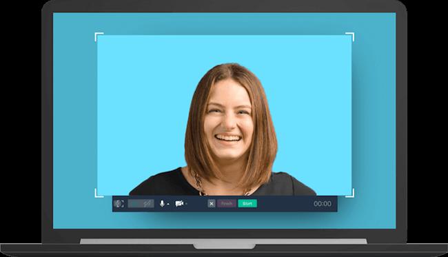 social media graphics cloudapp webcam record