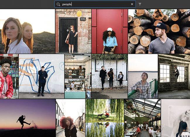 social media graphics lightroom organization