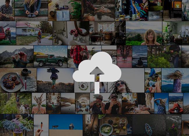 social media graphics lightroom storage