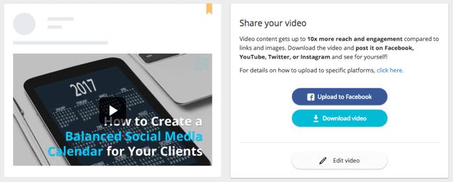 social media graphics lumen5 publish