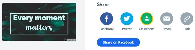 social media graphics spark post share