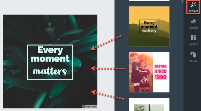 social media graphics spark post transform