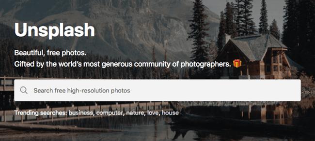 social media graphics unsplash header