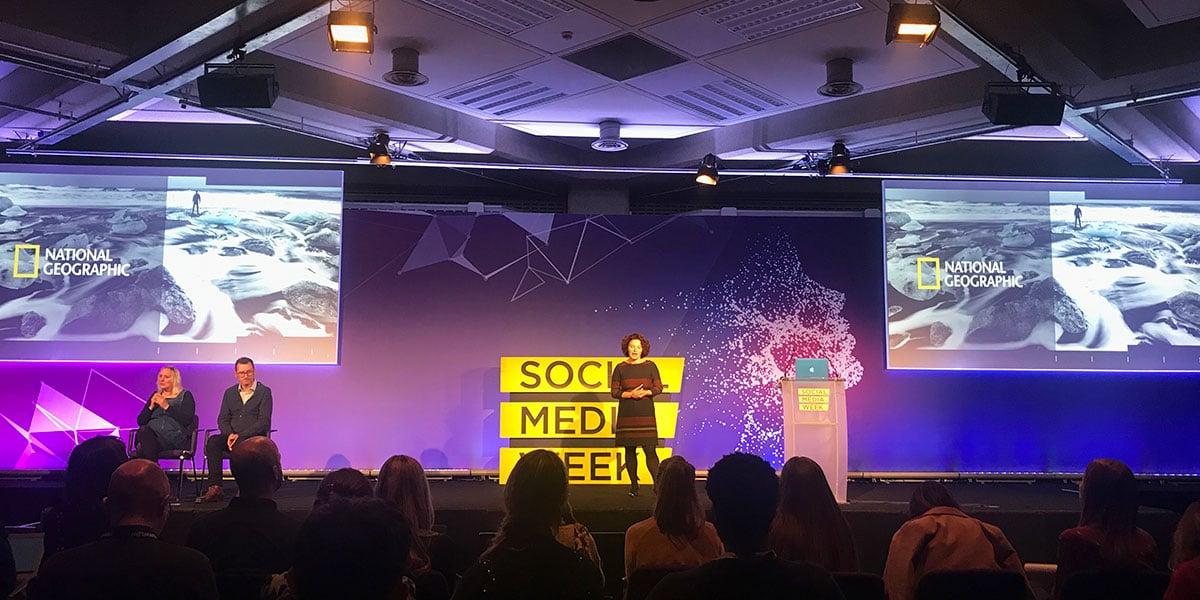 National Geographic at Social Media Week London