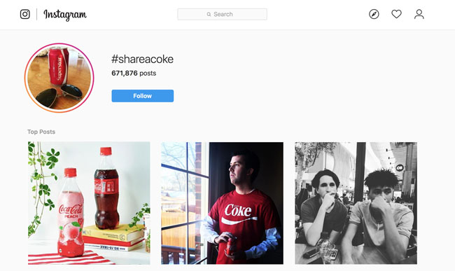 coke user generated content