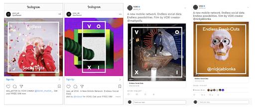 agency awards instagram screengrabs