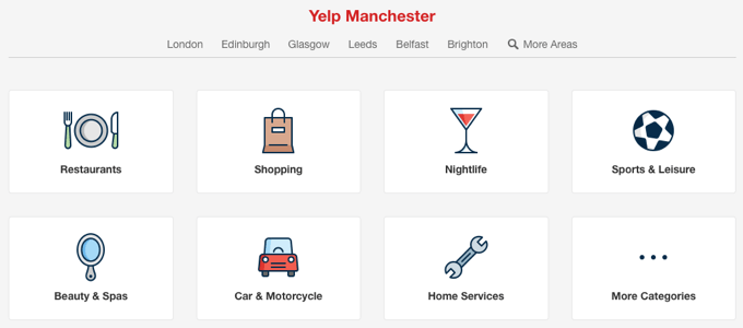 yelp businesses