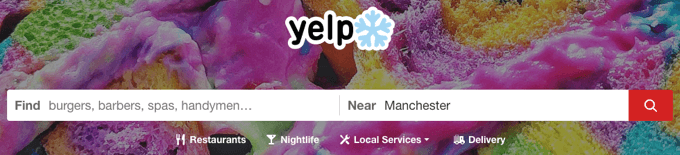 yelp customers