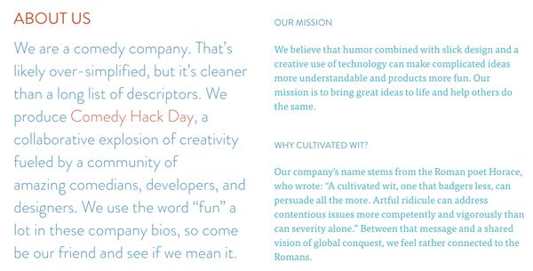 agency biography