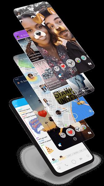 snapchat screens