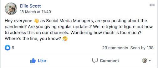 social media storytellers community