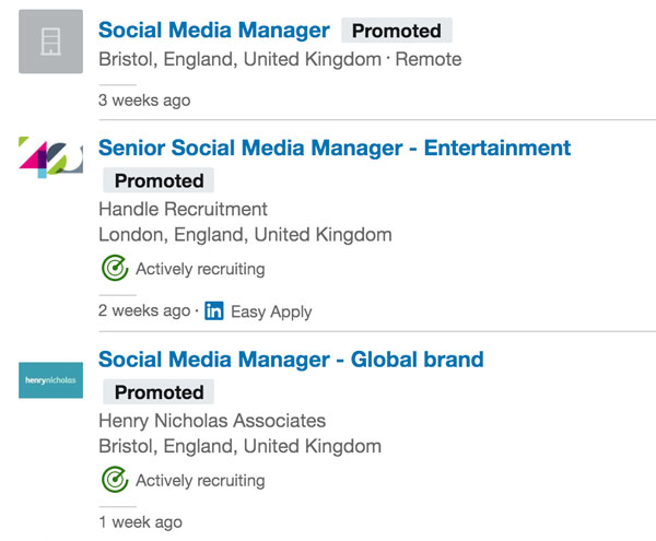 social media freelancer linkedin jobs