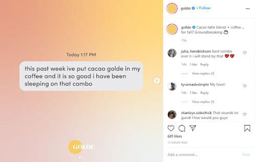 convertible social media tips golde