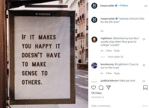 convertible social media tips harper wilde