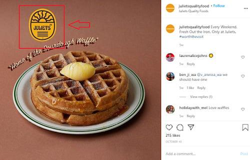convertible social media tips juliets quality food