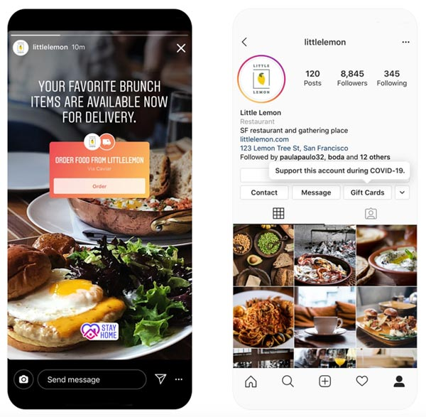 social media for local business instagram