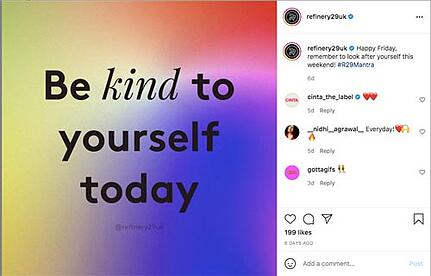 refinery29 welbeing advice