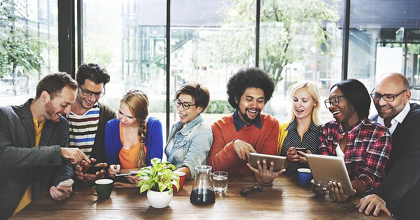 the eight social media benefits